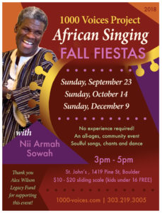 African Singing Fiesta @ St. John's Episcopal Church