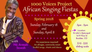 African Singing Fiesta @ St. John's Episcopal Church