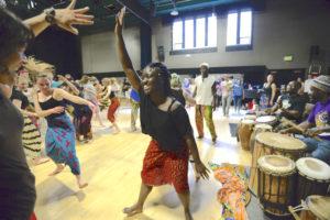 CU Midterm - Mini African Dance Festival - Spring 2019 @ Charlotte York Irey Theatre