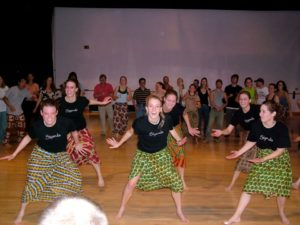 African Dance Midterms @ Charlotte York Irey Theatre